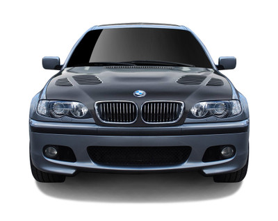 BMW 3 Series 4DR AF-2 Aero Function (CFP) Body Kit- Hood 2002-2005