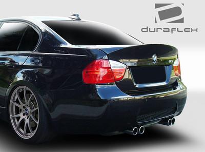 BMW 3 Series 4DR CSL Look Duraflex Body Kit-Trunk/Hatch 2006-2008