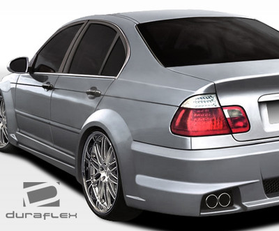 BMW 3 Series 4DR I-Design Duraflex Body Kit- Wide Fenders 1999-2005