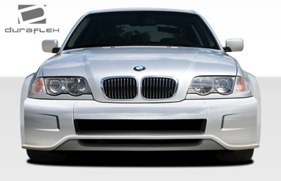 BMW 3 Series 4DR I-Design Duraflex Front Wide Body Kit Bumper 1999-2005