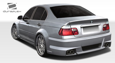 BMW 3 Series 4DR I-Design Duraflex Rear Wide Body Kit Bumper 1999-2005