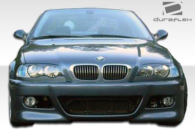 BMW 3 Series 4DR M3 Look Duraflex Front Body Kit Bumper 1999-2005