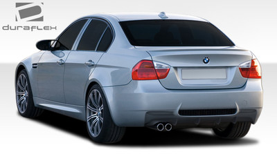 BMW 3 Series 4DR M3 Look Duraflex Rear Body Kit Bumper 2006-2008