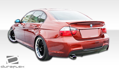 BMW 3 Series 4DR M-Tech Duraflex Rear Body Kit Bumper 2006-2008