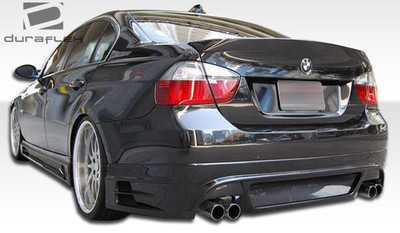 BMW 3 Series 4DR R-1 Duraflex Rear Body Kit Bumper 2006-2008