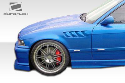 BMW 3 Series 4DR Z3 Duraflex Body Kit- Fenders 1992-1998