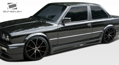BMW 3 Series GT-S Duraflex Side Skirts Body Kit 1984-1991