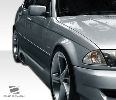 BMW 3 Series I-Design Duraflex Side Skirts Body Kit 1999-2005