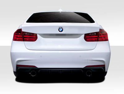 BMW 3 Series M Performance Look Duraflex Rear Diffuser 2012-2015