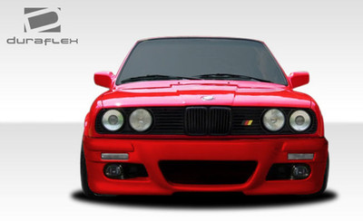 BMW 3 Series M3 Look Duraflex Front Body Kit Bumper 1984-1991