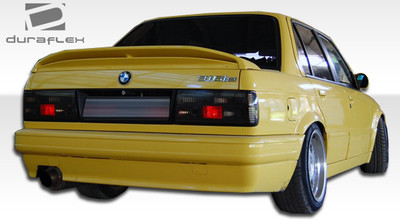 BMW 3 Series M-Tech Duraflex Rear Body Kit Bumper 1988-1991