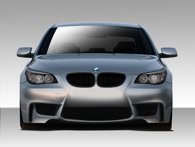 BMW 5 Series 4DR 1M Look Duraflex Front Body Kit Bumper 2004-2010