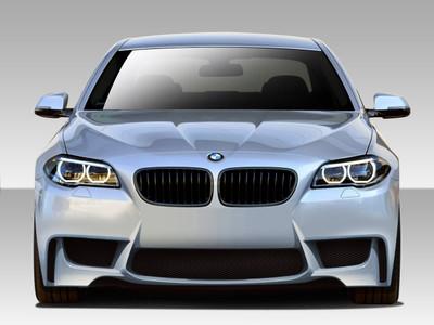 BMW 5 Series 4DR 1M Look Duraflex Front Body Kit Bumper 2011-2015