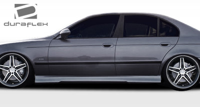 BMW 5 Series 4DR HM-S Duraflex Side Skirts Body Kit 1997-2003