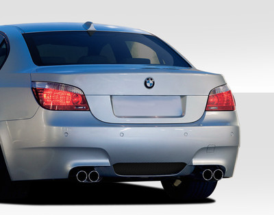 BMW 5 Series 4DR M5 Look Duraflex Rear Body Kit Bumper 2004-2010