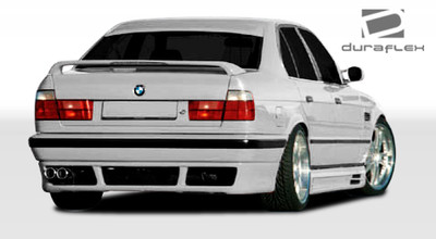 BMW 5 Series 4DR SR-S Duraflex Rear Body Kit Bumper 1989-1995