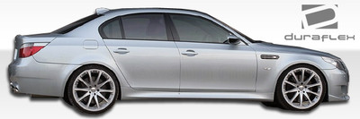 BMW 5 Series M5 Look Duraflex Side Skirts Body Kit 2004-2010