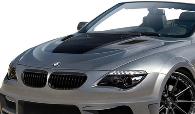 BMW 6 Series 2DR AF-2 Aero Function Body Kit- Hood 2004-2010