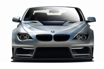 BMW 6 Series 2DR AF-2 Aero Function Front Wide Body Kit Bumper 2004-2010
