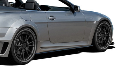 BMW 6 Series 2DR AF-2 Aero Function Wide Fender Flares 2004-2010