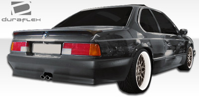 BMW 6 Series 2DR ZR-S Duraflex Rear Body Kit Bumper 1976-1989