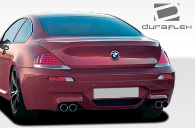 BMW 6 Series Convertible M6 Look Duraflex Rear Body Kit Bumper 2004-2010