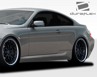 BMW 6 Series Convertible M6 Look Duraflex Side Skirts Body Kit 2004-2010