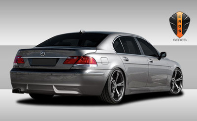 BMW 7 Series Eros Version 1 Couture Rear Body Kit Bumper 2006-2008
