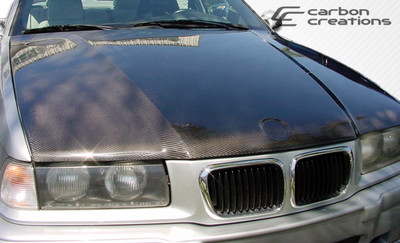 BMW M3 2DR OEM Carbon Fiber Creations Body Kit- Hood 1992-1998