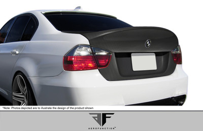 BMW M3 4DR AF-1 Aero Function (CFP) Body Kit-Trunk/Hatch 2006-2008