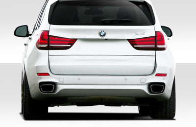 BMW X5 M Sport Look Duraflex Rear Body Kit Bumper 2014-2015