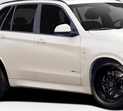 BMW X5 M Sport Look Duraflex Side Skirts Body Kit 2014-2015