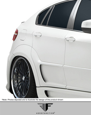BMW X6 AF-3 Aero Function Body Kit- Wide Rear Fenders 2008-2014