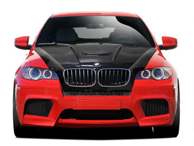 BMW X6 AF-5 Aero Function (CFP) Body Kit- Hood 2008-2014