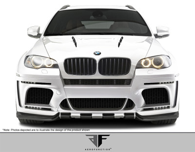 BMW X6 AF-5 Aero Function Front Wide Body Kit Bumper 2008-2014
