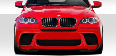 BMW X6 M Performance Look Duraflex Front Bumper Lip Body Kit 2010-2014