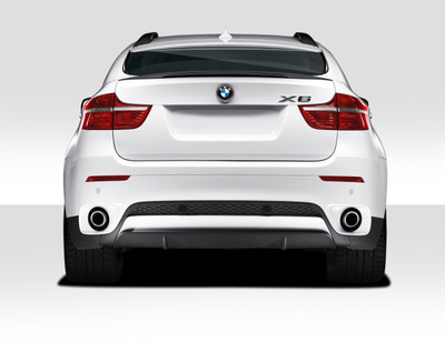 BMW X6 M Performance Look Duraflex Rear Diffuser 2008-2014