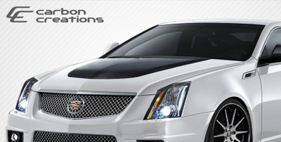 Cadillac CTS CTS-V Look Carbon Fiber Creations Body Kit- Hood 2008-2013