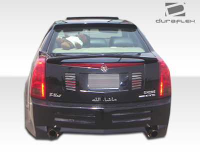 Cadillac CTS Platinum Duraflex Rear Body Kit Bumper 2003-2007