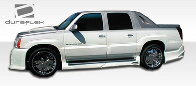 Cadillac Escalade Platinum Duraflex Side Skirts Body Kit 2002-2006