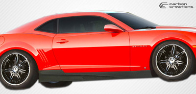 Chevy Camaro GM-X Carbon Fiber Creations Side Skirts Body Kit 2010-2015