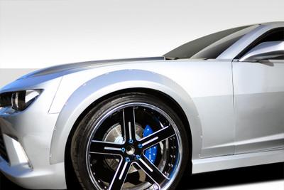 Chevy Camaro GT Concept Duraflex Wide Front Fender Flares 2010-2015