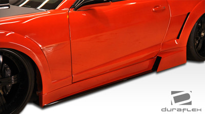 Chevy Camaro Hot Wheels Duraflex Side Skirts for Wide Body Kit 2010-2015