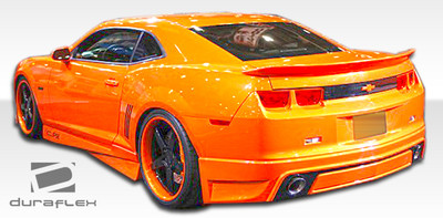 Chevy Camaro Racer Duraflex Rear Body Kit Bumper 2010-2013