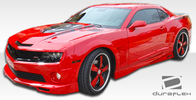 Chevy Camaro Racer Duraflex Side Skirts Body Kit 2010-2015