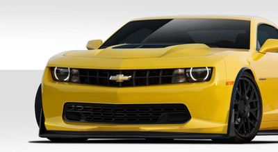 Chevy Camaro Stingray Z Look Duraflex Front Bumper Lip Body Kit 2010-2015