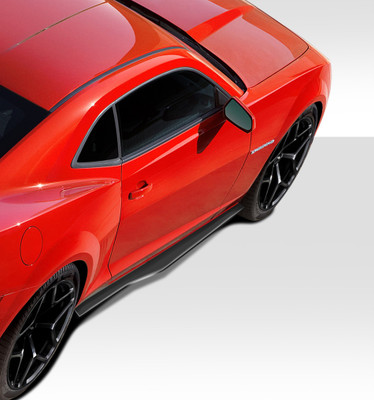 Chevy Camaro Stingray Z Look Duraflex Side Skirts Body Kit 2010-2015