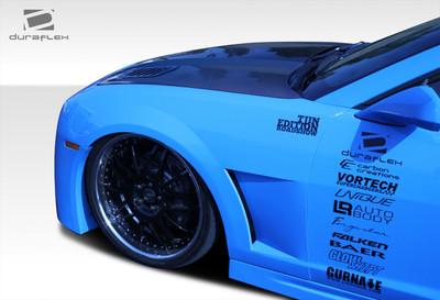 Chevy Camaro Tjin Duraflex Body Kit- Fenders 2010-2015