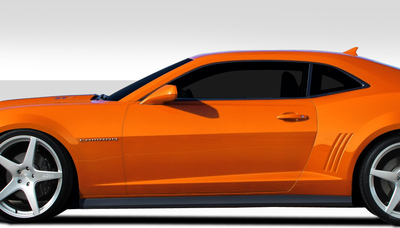 Chevy Camaro ZL1 Look Duraflex Side Skirts Body Kit 2010-2015