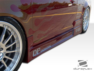 Chevy Cobalt 2DR Drifter 2 Duraflex Side Skirts Body Kit 2005-2010